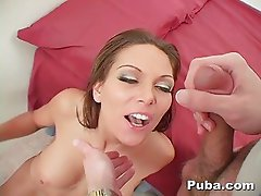 German Pornstar Ana Nova Worships the Dick POV