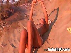 Natasha czechian teen showing pink