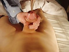 Insertion of merry Christmas in present by mistress annie