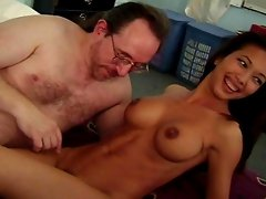 Bamboos GF Teanna Kai fucking old man part 4 - CLIMAX
