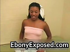 Foxy Black chick intense interracial