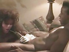 Brunette white bride with black lover - Interracial Vintage