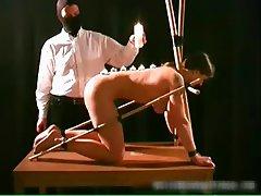 Nasty great tits sexy babe gets bondage part5