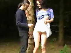 Amateur Fuck in the Forest