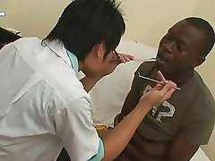 Interracial Oral Sex Inside Asian Medical Clinic