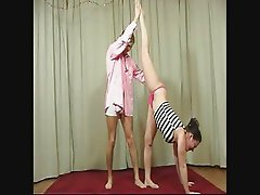 Amateur gymnast gets fucked