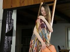 vagina opening of ultracute girl Gloria