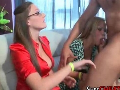 Cougars Give Blowjobs At a Bachelorette Party
