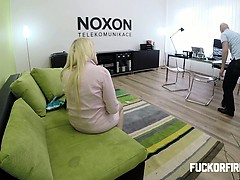 FuckOF - She Wants a Job and Likes It Up Her Ass
