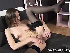 Xara Uses A Pump On Her Labia