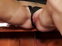 Classy Cunt Get Fucked at the Bar