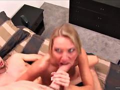 amazing threesome sex with the horny blonde niki wylde