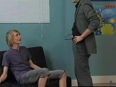 Hot twink The adorable towheaded stud is getting a personal lesson in