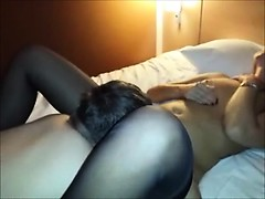 Filming His Wife Getting Eaten Out to Orgasm