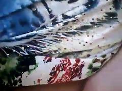 Brazilian Granny Masturbates her hairy pussy