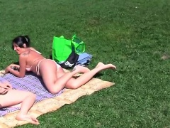 Video of public sex in the park