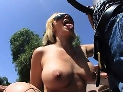 Sunny Day Spreads Her Ass Cheeks for BBC