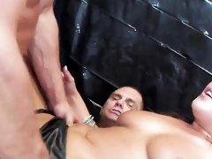 Hot babes get ass fucked hard