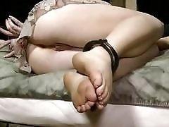 Bondage whore sucks masters cock like a good bitch BDSM
