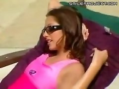Jenna Haze - Threesome near pool