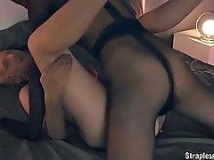 pantyhose encasement