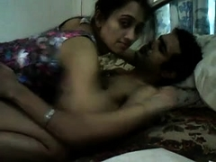 Insatiable Indian wife gets on top of her lover