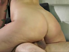 purely cute liza rowe has emotional sex with older dude