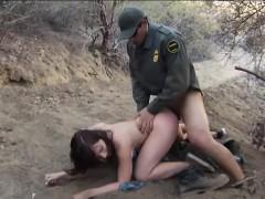 Law fucks babe at the border