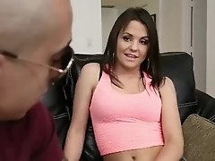Sexy Brooklyn gets fucked and filled up