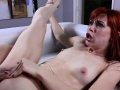 Retro redhead anal Permission To Cum