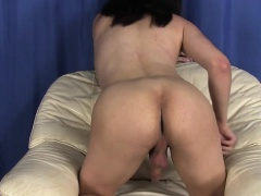 TS crossdressing enjoying hidden pleasures