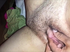 Two sexy amateur girls join a hung boy for a wild threesome