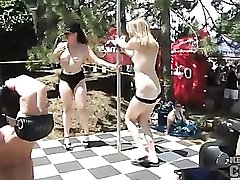 Nudist festival has some serious hotties