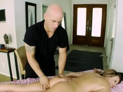 Alexis Adams gets fucked at massage