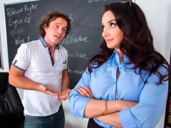The classroom is a good place to fuck with Sheena Ryder