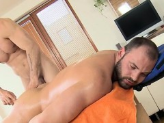 Gripping and wild gay sex