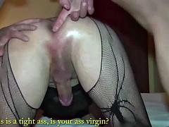 bisexual, white and black milf! everyone fucks everyone!