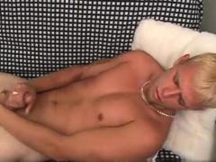 Sexy gay Jerking off at various speeds Wayne was getting fru