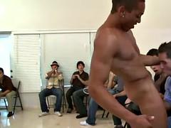 sucking a huge stripper cock