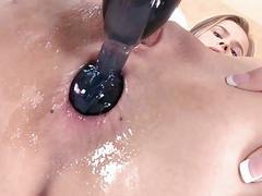 Sexy hottie Jillian Janson got fucked n the ass