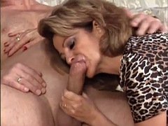 chantal swallows sperm