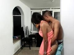 Hardcore Ebony Threesome Sex