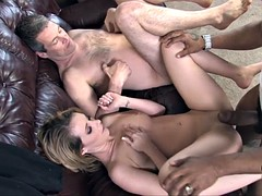 Cuckold gets hard humilation by his beloved wife