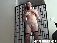 these fishnets really make me want to play with my pussy joi