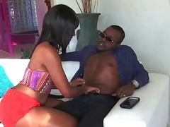 Chanell gets her teen pussy stretched
