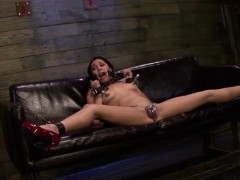 Coarse thraldom delight for lustful bimbo