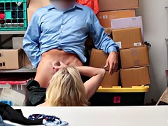Shoplifting zoe parker babe caught and fucked
