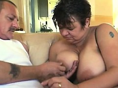 Old couple banging Hilaria from 1fuckdatecom