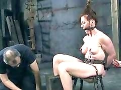 Dirty slut humiliated and fucked by her master BDSM porn