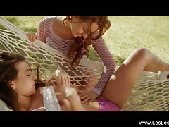 Lesbian Lust Explored Outdoors